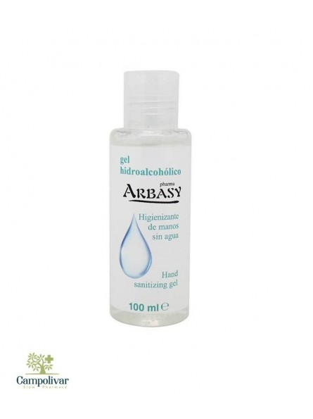 ARBASY GEL HIDROALCOHOLICO MANOS 100 ML