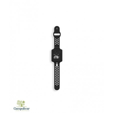 CLEANDS PULSERA GEL RELLENABLE NEGRO