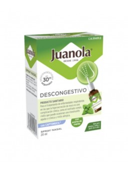 JUANOLA DESCONGESTIVO SPRAY NASAL 1 ENVASE 20 ML