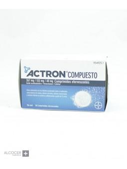 ACTRON COMPUESTO 267 mg/133 mg/40 mg 20 COMPRIMI