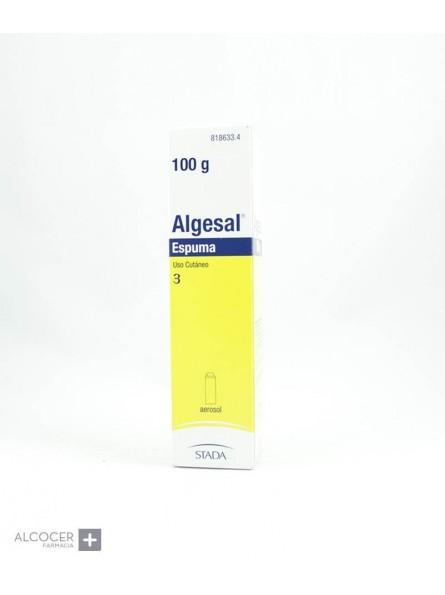 ALGESAL 100 mg/g + 10 mg/g ESPUMA CUTANEA 1 ENVA