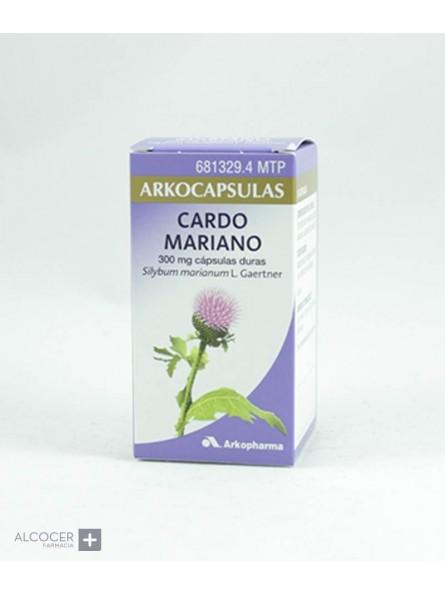 CARDO MARIANO ARKOPHARMA 300 MG 50 CAPSULAS