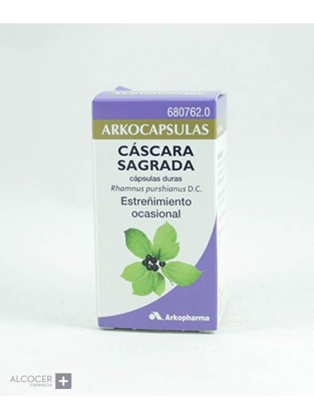 ARKOPHARMA CASCARA SAGRADA 250 MG 50 CAPSULAS