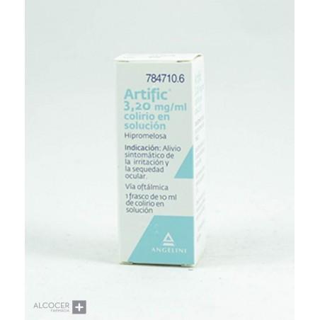ARTIFIC 3,2 mg/ml COLIRIO EN SOLUCION 1 FRASCO 1