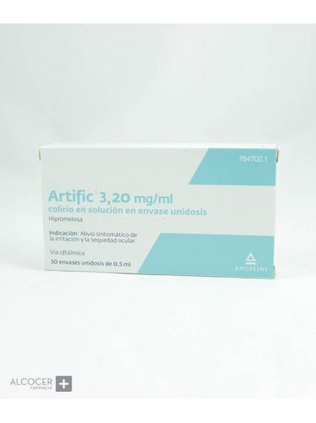 ARTIFIC 3,2 mg/ml COLIRIO EN SOLUCION 30 MONODOS