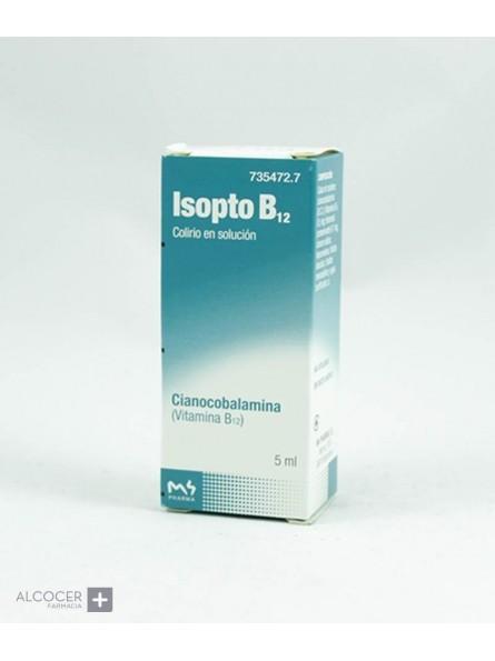 ISOPTO B12 0,5 mg/ml COLIRIO EN SOLUCION 1 FRASC