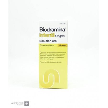 BIODRAMINA INFANTIL 4 mg/ml SOLUCION ORAL 1 FRAS