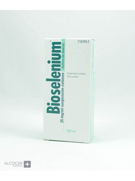 BIOSELENIUM 25 mg/ml SUSPENSION CUTANEA 1 FRASCO