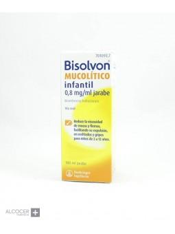 BISOLVON MUCOLITICO INFANTIL 0,8 mg/ml JARABE 1