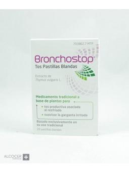 BRONCHOSTOP TOS 20 PASTILLAS BLANDAS PARA CHUPAR