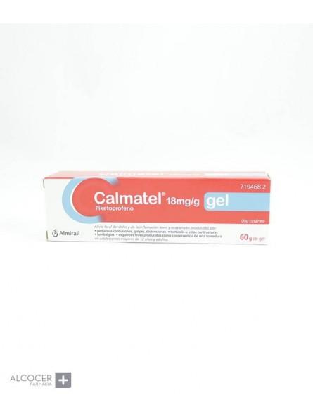CALMATEL 18 mg/g GEL CUTANEO 1 TUBO 60 g