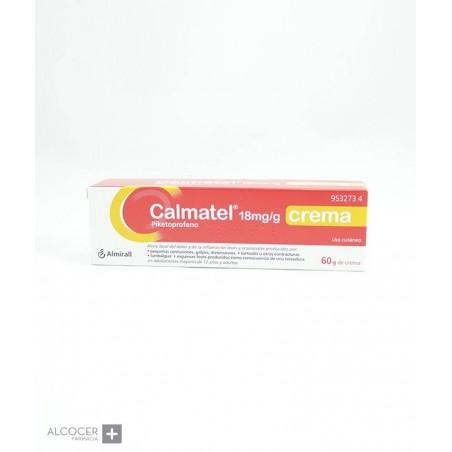 CALMATEL 18 mg/g CREMA 1 TUBO 60 g