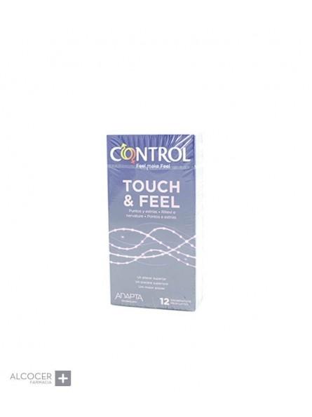 CONTROL SENSUAL DOTS & LINES 12 PRESERVATIVOS