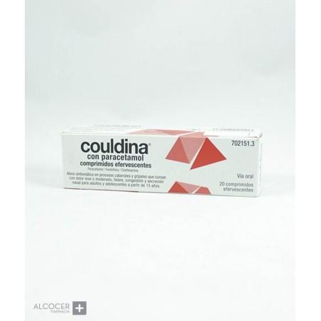 COULDINA CON PARACETAMOL 650 mg/4 mg/10 mg 20 CO