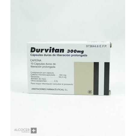 DURVITAN RETARD 300 MG 10 CAPSULAS LIBERACION PR