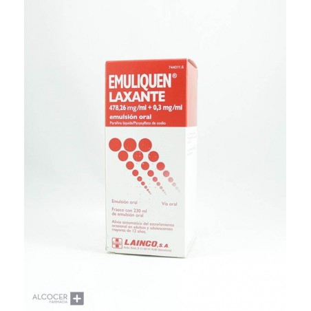 EMULIQUEN LAXANTE 478,26 mg/ml + 0,3 mg/ml EMULS