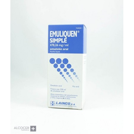 EMULIQUEN SIMPLE 478,26 mg/ml EMULSION ORAL 1 FR