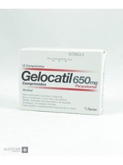 GELOCATIL 650 MG 12 COMPRIMIDOS