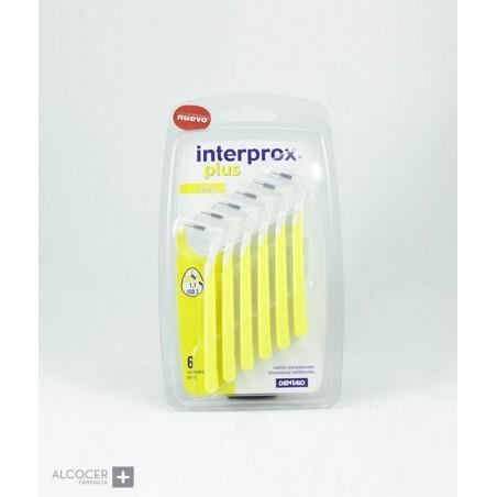 INTERPROX PLUS MINICONICO 6 CEPILLOS