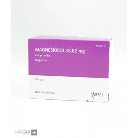 MAGNESIOBOI 48,62 MG 50 COMPRIMIDOS