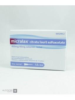 MICRALAX CITRATO/LAURIL SULFOACETATO 450 MG/ML +