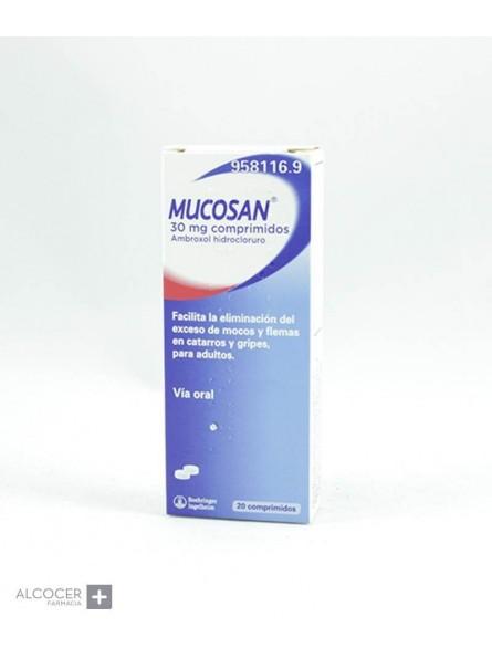 MUCOSAN 30 MG 20 COMPRIMIDOS