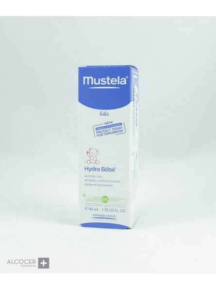 MUSTELA HYDRA BEBE CARA 40 ML