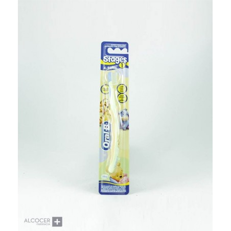 ORAL-B CEPILLO STAGES 1 4-24 MESES