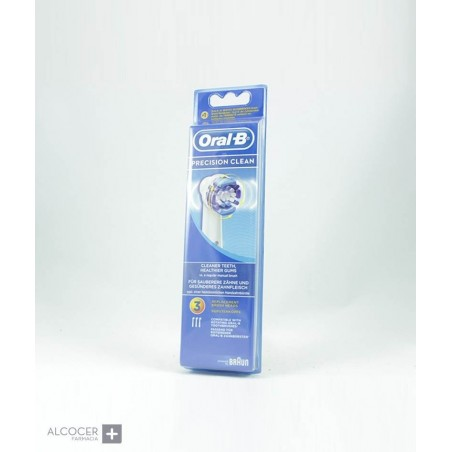 ORAL-B RECAMBIO PRECISION CLEAN 3 UNID