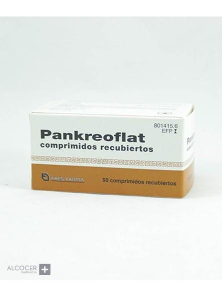 PANKREOFLAT 172 mg/80 mg 50 COMPRIMIDOS RECUBIER