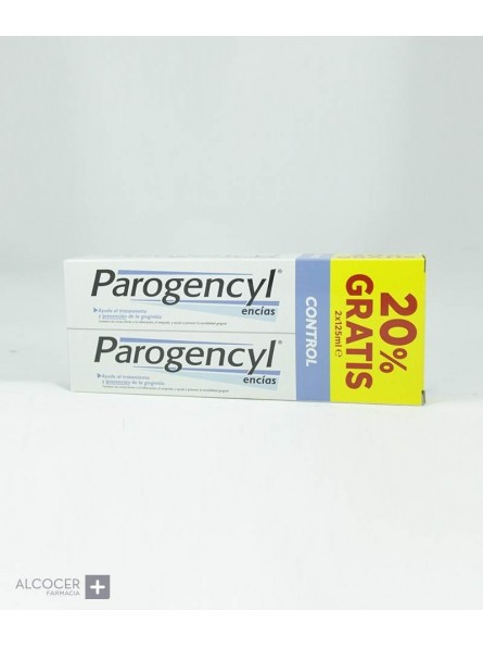 PAROGENCYL CONTROL PASTA PACK 2 X 125 ML