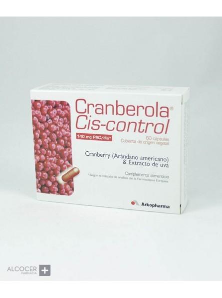 ARKOPHARMA CIS-CONTROL CRANBEROLA 60 CAPSULAS