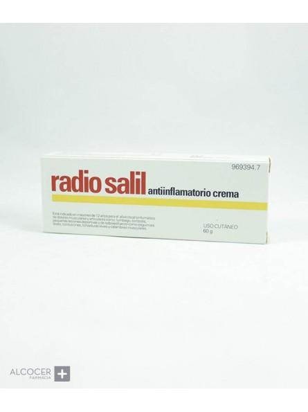 RADIO SALIL ANTIINFLAMATORIO CREMA 1 TUBO 60 g
