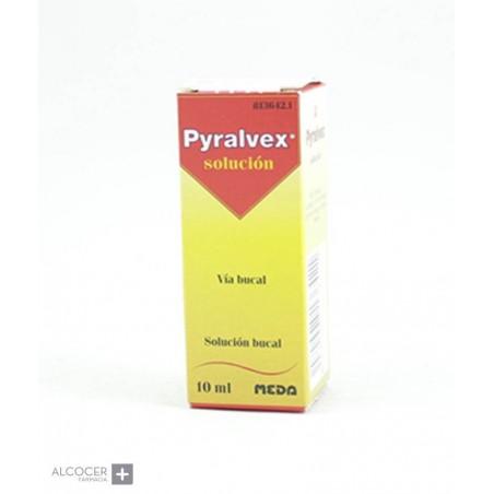 PYRALVEX 10 mg/ml + 50 mg/ml SOLUCION BUCAL 1 FR