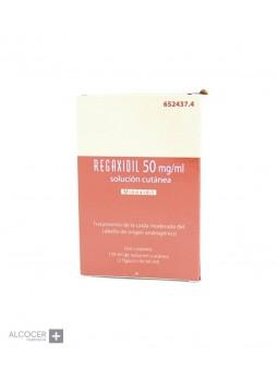 REGAXIDIL 50 MG/ML SOLUCION CUTANEA 2 X 60 ML