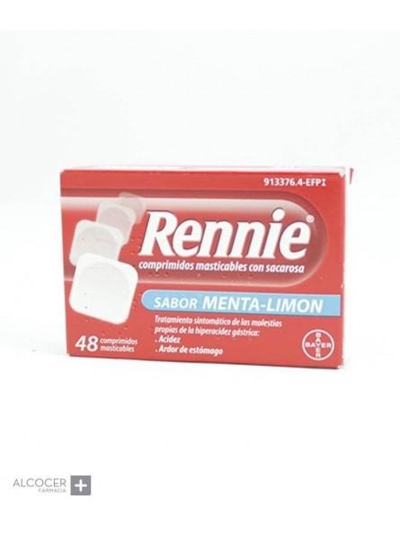 RENNIE 680 mg/80 mg 48 COMPRIMIDOS MASTICABLES (