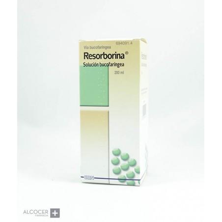 RESORBORINA SOLUCION BUCAL 1 FRASCO 200 ml