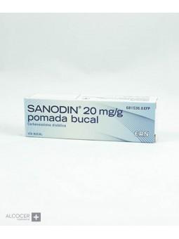 SANODIN 20 mg/g POMADA BUCAL 1 TUBO 15 g