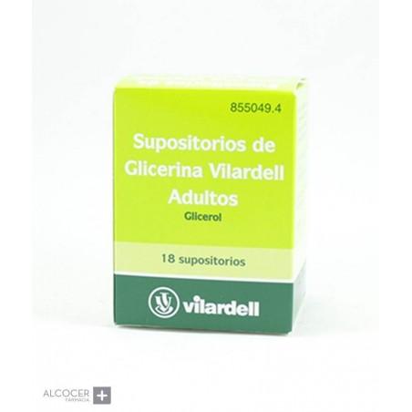 SUPOSITORIOS DE GLICERINA VILARDELL ADULTOS 18 S