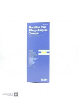 ZINCATION PLUS 10 MG/ML + 4 MG/ML CHAMPU MEDICIN