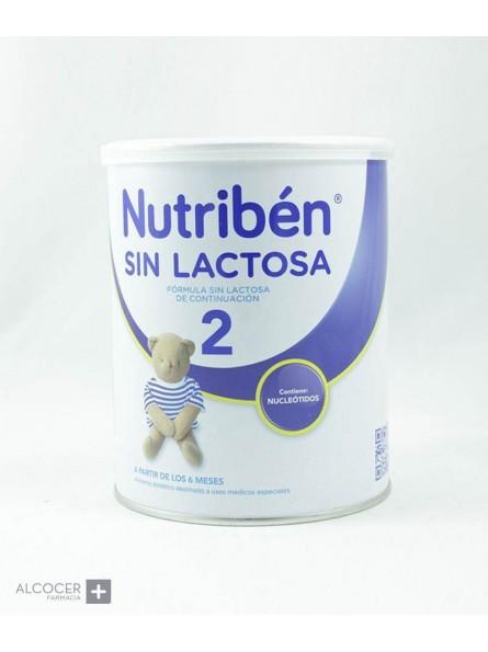 NUTRIBEN SIN LACTOSA 2 400 G LATA NEUTRO