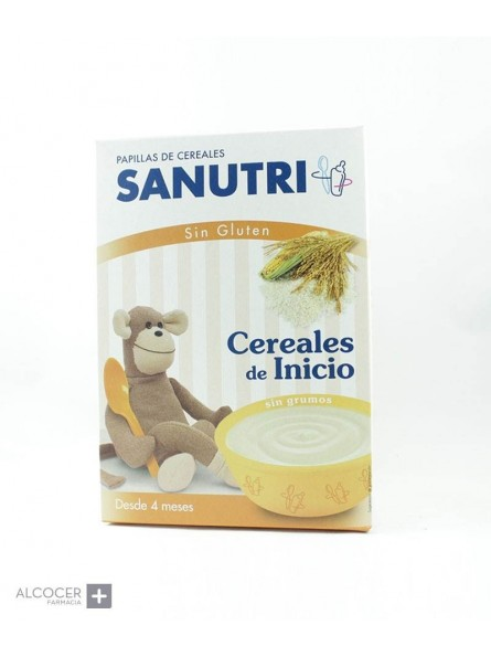 SANUTRI PAPILLA CEREALES SIN GLUTEN FOS 600G