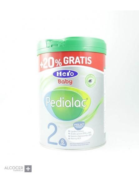 HERO PEDIALAC 2 CONTINUACION 800 GRAMOS