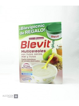 BLEVIT PLUS MULTICEREALES FRUTOS SECOS MIEL 600G