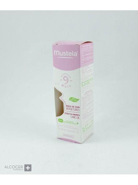 MUSTELA MATERNIDAD ACEITE ESTRIAS  105 ML(NP+)