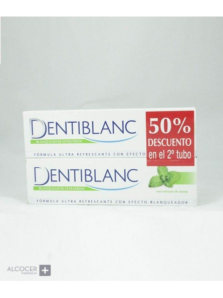 DENTIBLANC BLANQUEADOR EXTRAFRESH PACK 2 X100 ML