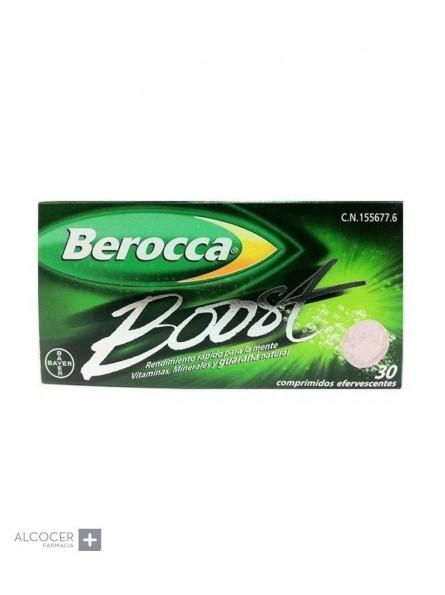 BEROCCA BOOST 30 COMP EFERVESCENTES