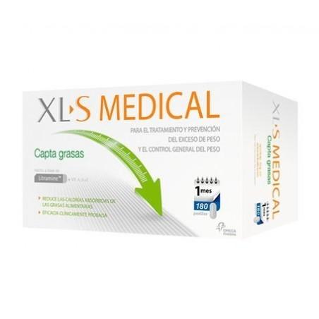 XLS MEDICAL CAPTAGRASAS 180 COMP(NP+)