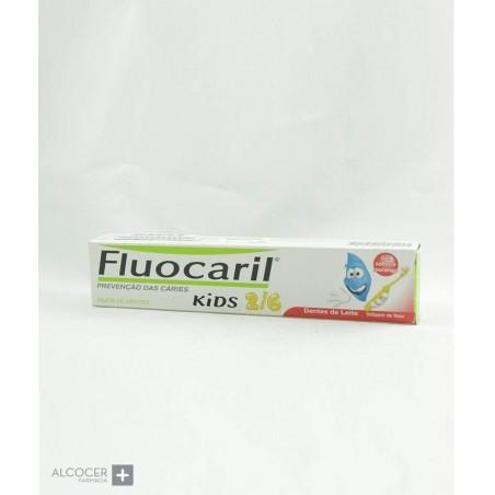 FLUOCARIL KIDS GEL FRESA 0-6  AÑOS 50 ML