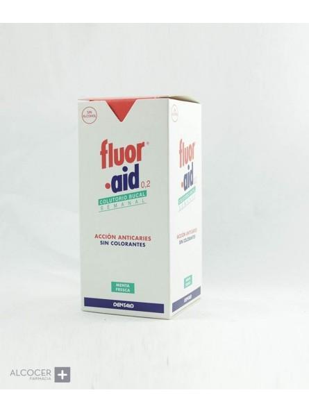 FLUOR AID SEMANAL 0,2 COLUTORIO 150 ML
